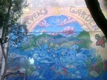 Steven's Garden Mural Tzvat Israel